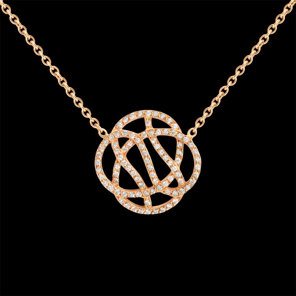 Infini_collier_xxl_or_rose